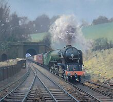 Tornado at Grosmont by Richard Picton