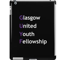 Glasgow United Youth fellowship iPad Case/Skin