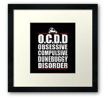 Funny Dune Buggy Shirt Framed Print