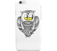 Sleepy Owl 12 iPhone Case/Skin