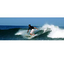 #451 Surfer At Spring Lake, New Jersey Photographic Print