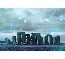 Bokeh Stonehenge Photographic Print
