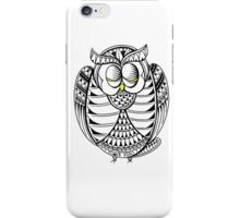 Sleepy Owl 13 iPhone Case/Skin
