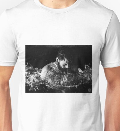 Tattoo Male Portrait Unisex T-Shirt