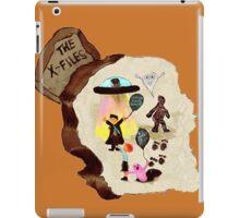 X-files on the rock iPad Case/Skin