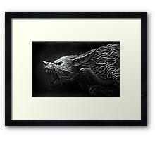 The Black Dragon Framed Print