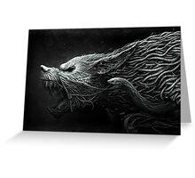 The Black Dragon Greeting Card