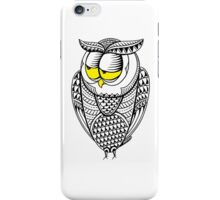 Sleepy Owl 14 iPhone Case/Skin