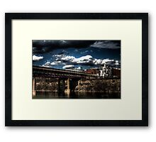 Weisman Art Center HDR Framed Print