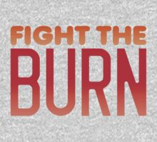 FIGHT THE BURN One Piece - Long Sleeve