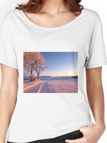 Early Morning Glow Women's Relaxed Fit T-Shirt