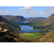 Buttermere from Haystacks Photographic Print
