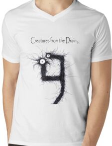 the creatures from the drain 16 Mens V-Neck T-Shirt