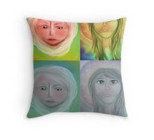 Remember to ask your higher self for guidance Throw Pillow
