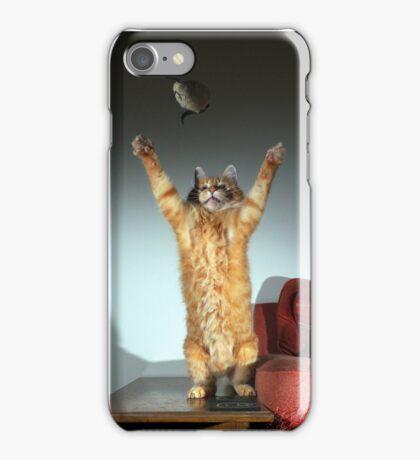 Playful cat iPhone Case/Skin