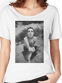 My Hands Nude Girl - NudeART Women's Relaxed Fit T-Shirt