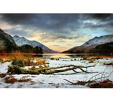 Driftwood at Loch Sheil, Glenfinnan Photographic Print