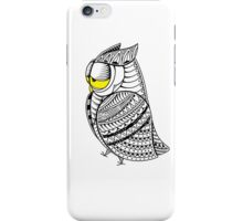 Sleepy Owl 17 iPhone Case/Skin