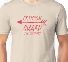 CRIMSON GUARD sigil with arrows 2ND COMPANY fanart 1 Unisex T-Shirt