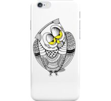 Sleepy Owl 18 iPhone Case/Skin