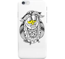 Sleepy Owl 19 iPhone Case/Skin