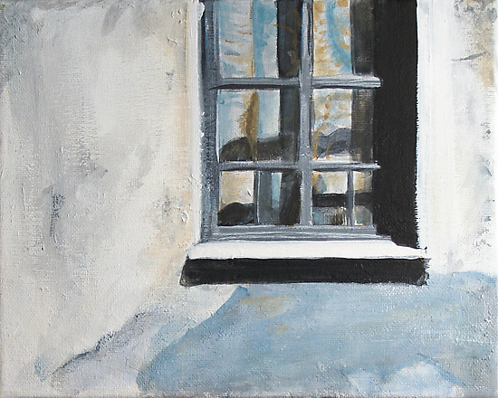 Blue window by bugler