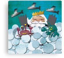 LIFE IN THE UNDERSEA KINGDOM Canvas Print