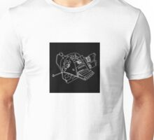 DETAILED DRAWING OF THE INERTIA (SPACESHIP) Unisex T-Shirt