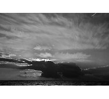 Comes the Storm Photographic Print