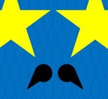 Blue Dragon - Happy Sticker