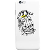 Sleepy Owl 25 iPhone Case/Skin