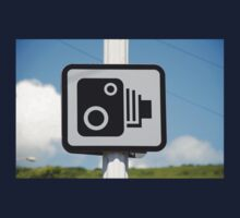 Speed camera warning sign One Piece - Long Sleeve