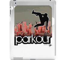 parkour*_red3 iPad Case/Skin