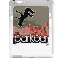 parkour*_red2 iPad Case/Skin