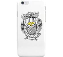 Sleepy Owl 28 iPhone Case/Skin