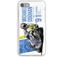 Mick Doohan - 1991 Salzburgring iPhone Case/Skin