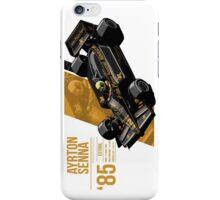 Ayrton Senna - 1985 Estoril iPhone Case/Skin