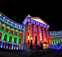 Christmas Lights of Denver Civic Center Park #2 by ShotByAWolf