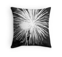 Firework 10 Throw Pillow