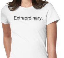 Extra plain Womens Fitted T-Shirt