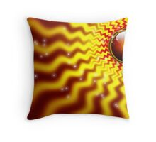 *I RISE WITH THE SUN* Throw Pillow