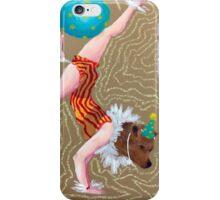 Circus bear iPhone Case/Skin