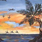 Sunset in Paradise by Jennifer Ingram