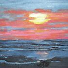 Sunset Marsh by Jennifer Ingram