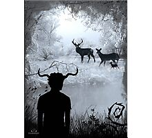 Imbolc - The Horned God Photographic Print