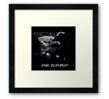 Mac Demarco Pedals Framed Print