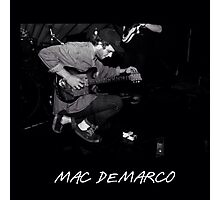 Mac Demarco Pedals Photographic Print