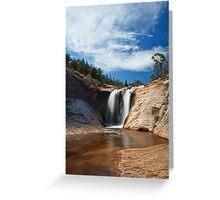 Spring Creek Cascades, Beechworth Greeting Card