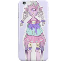 Monster girl iPhone Case/Skin