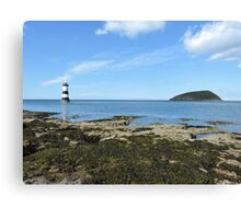 View Of Puffin Island Canvas Print
